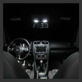 Complete Interior Led Kit Mk7 Golf Gti With Red Footwell Led