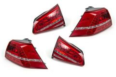 Euro Cherry MK7 GTI/Golf R LED Tail Light Set