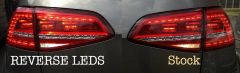 Reverse LED bulbs for Euro Tails MK7 GTI / Golf
