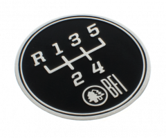 Black Forest Industries 5-Speed Gate Pattern Coin for Heavy Weight Shift Knobs, IBFI10051