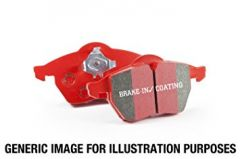 EBC Brakes Rear RedStuff Performance Brake Pad Set (272mm), MK7 GTI, DP32201C