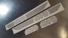 Throwback 4WD sticker kit for Atlas