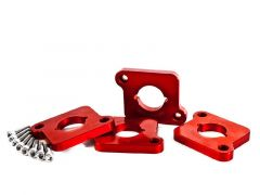 Integrated Engineering Coilpack Adaptor Set For 1.8T Engines With FSI/TSI Coilpacks, Red