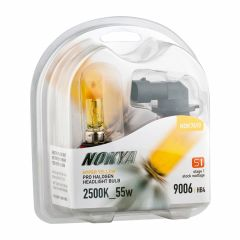 Nokya 9006/HB4 55w Hyper Yellow, Stage 1 bulbs