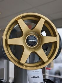 Rotiform SIX 18x8.5 Matte Gold