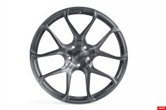 "APR S01 Forged Wheels (1 Wheel), 20 x 9.0"" ET42, Brushed Gunmetal"